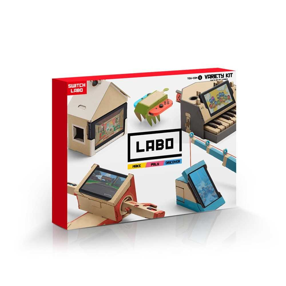 NS Switch Copy Labo DIY Cardboard Case - Variety Kit (1)