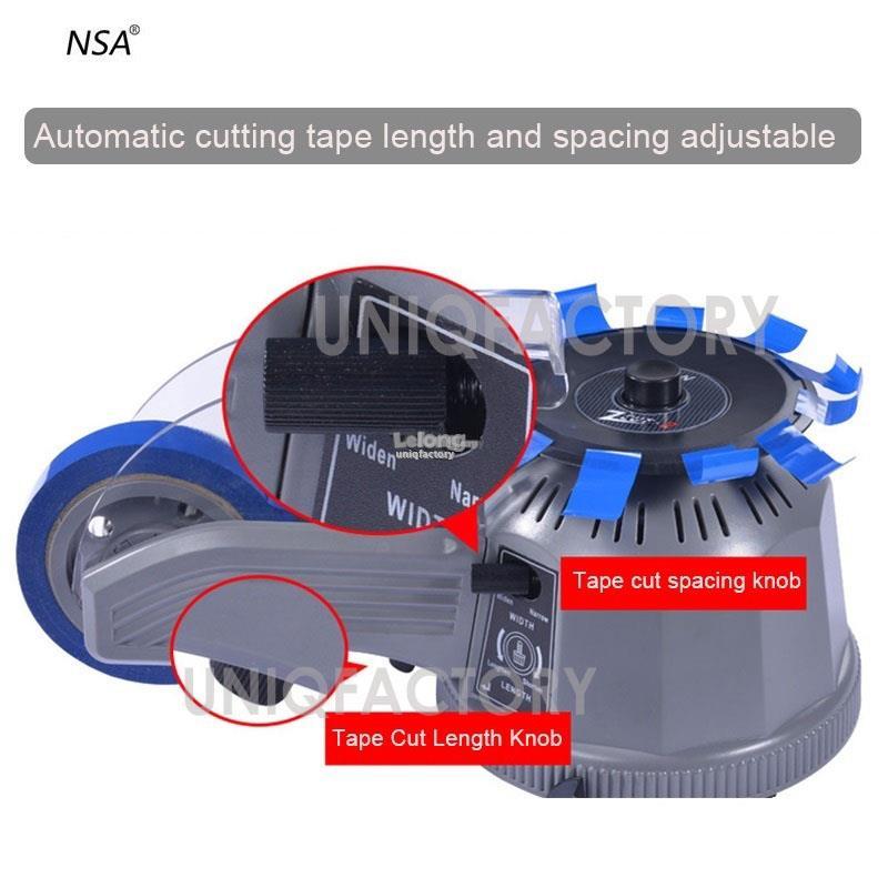 NSA ZCUT-2 Automatic Tape Dispenser Carousel Cutting Cutter Machine