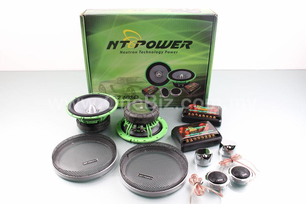 NT Power 6.5' 2-Way Compenent System (300W)- NT-G2.60SQ