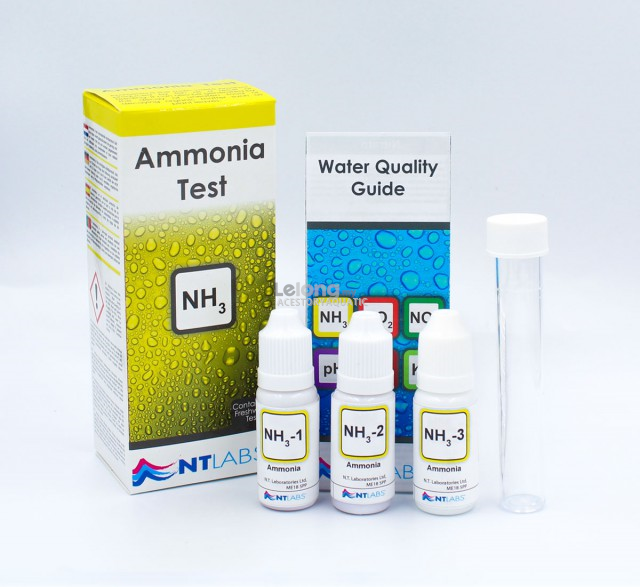 Ntlabs Aquarium Ammonia (NH3) Test