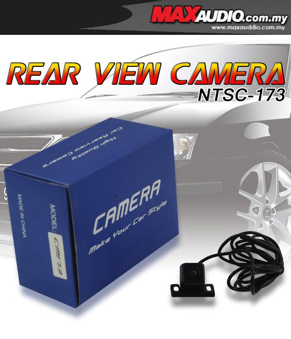 NTSC-173 170o Color CCD 3 Infrared Night Vision Reverse Rear Camera