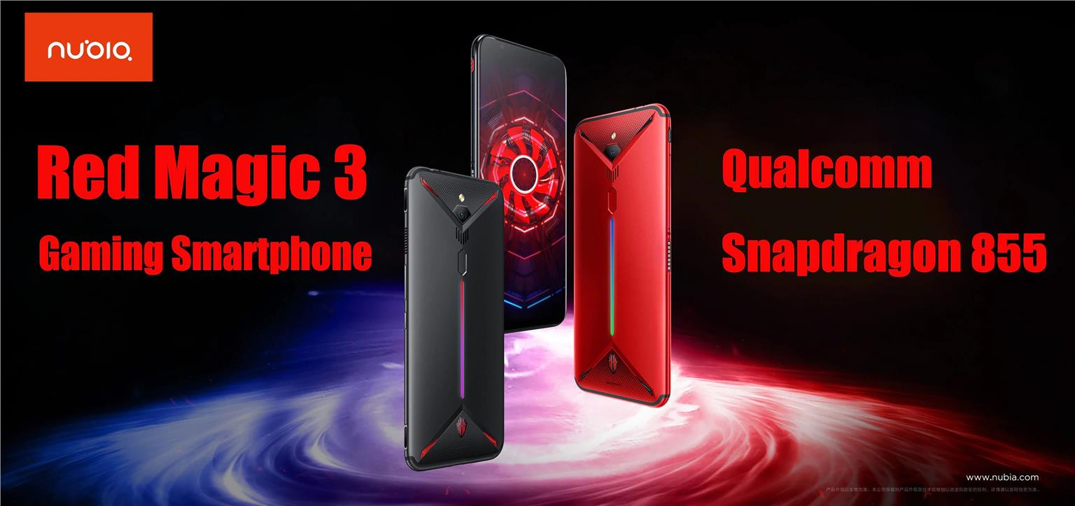 Nubia Red Magic 3 (6GB / 8GB RAM+128GB ROM) Ori. Imported Global Rom !