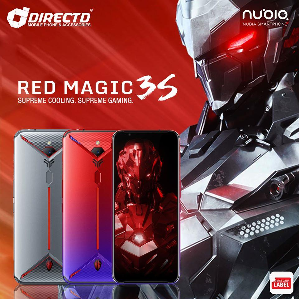 NUBIA Red MAGIC 3S (NEW MODEL | SNAPDRAGON 855+) ORIGINAL set