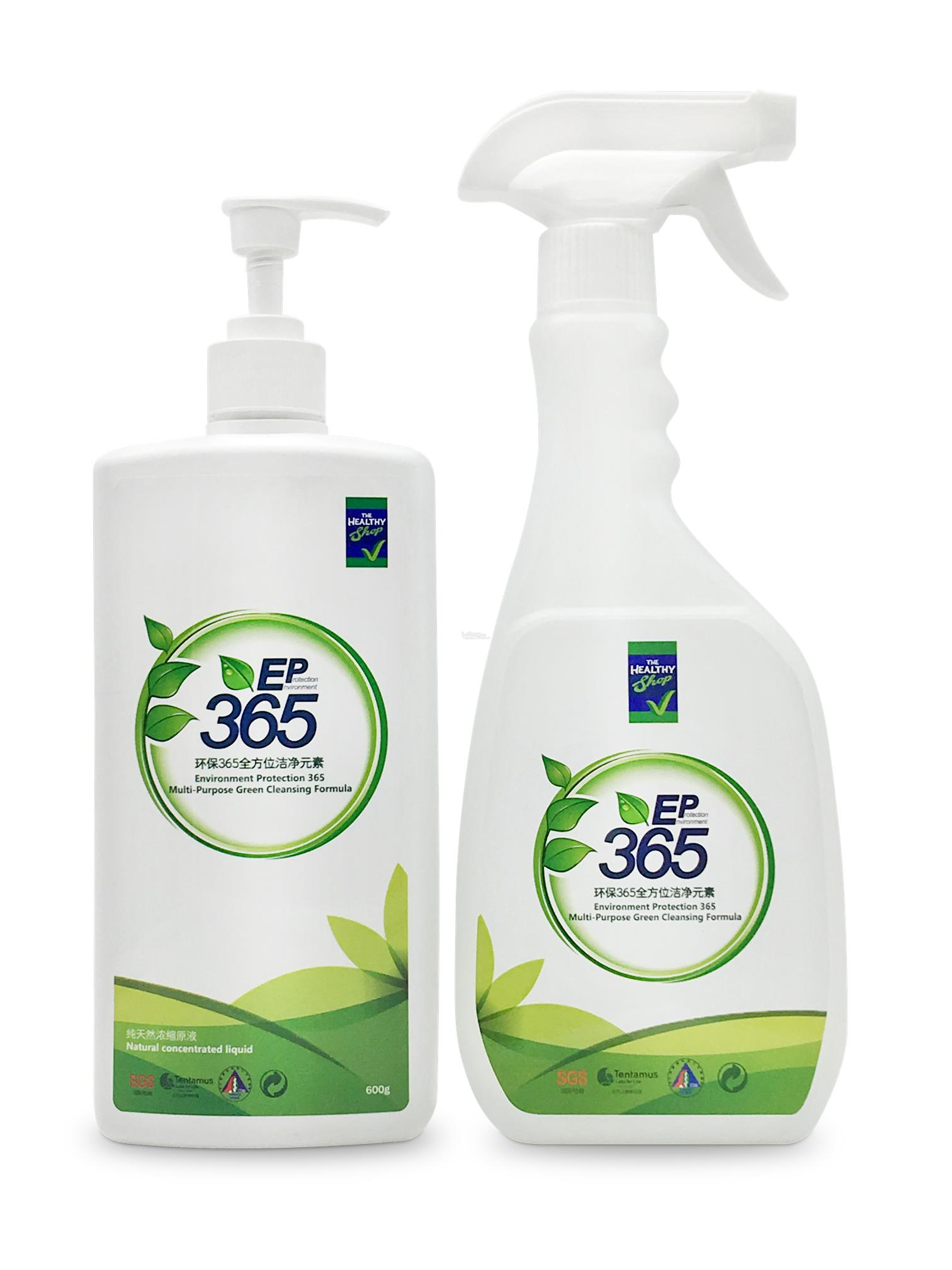 NUHEALTH ENVIRONMENT  PROTECTION 365 (EP365) 600ML