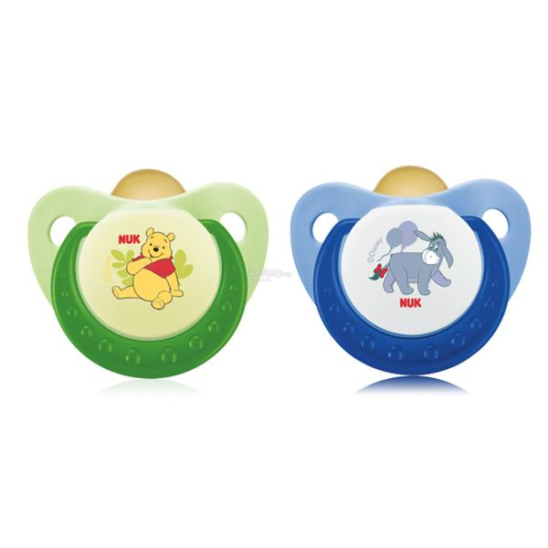 Nuk: Disney Latex Sleep-Time Soother Size 1 (0-6mths)