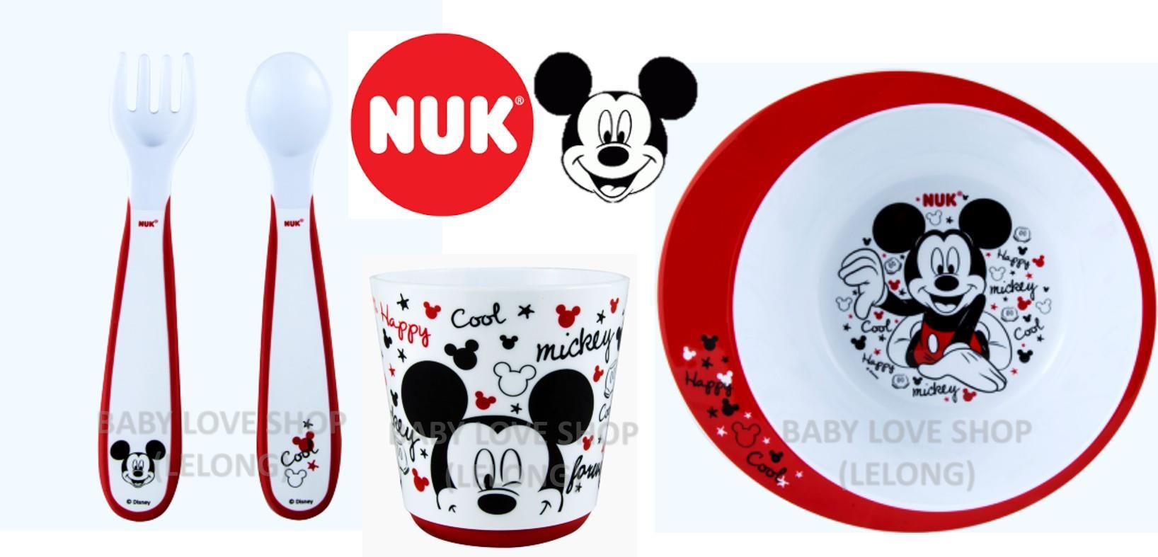 NUK Mickey Mouse 4pcs Tableware Set & NUK Mickey Mouse 4pcs Tableware Set (end 7/22/2018 10:41 AM)