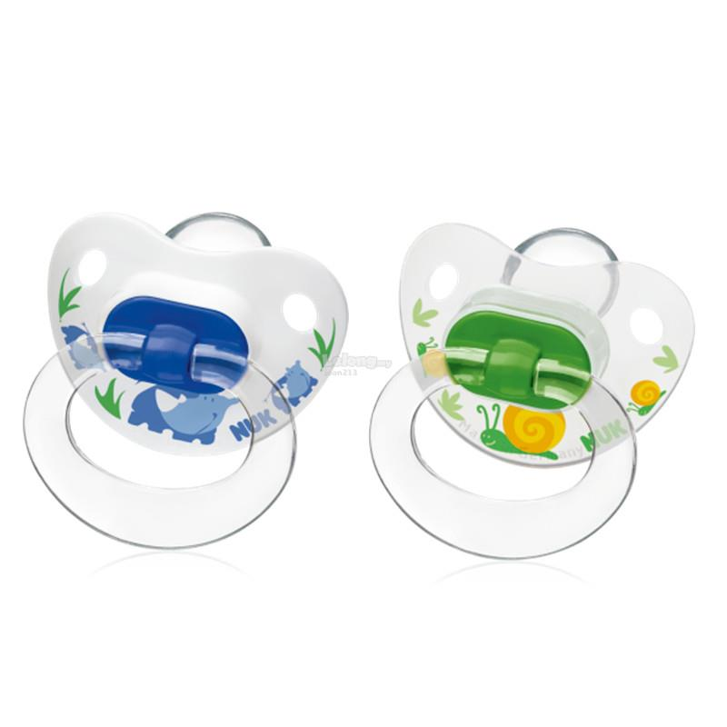 Nuk: Silicone Printed Soother Size 2 (6-18mths) Assorted Designs