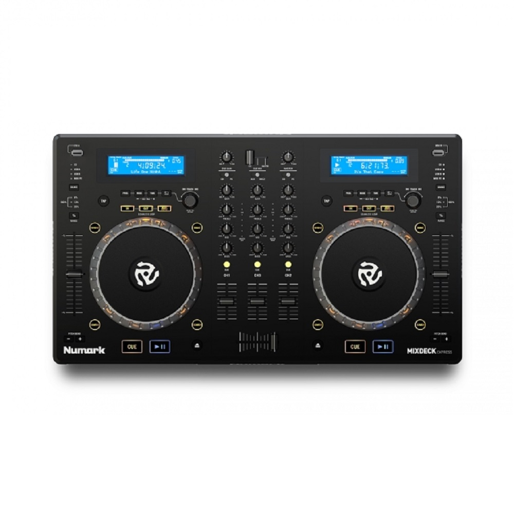 Numark Mixdeck Express 2-Channel DJ Controller With CD/USB Player