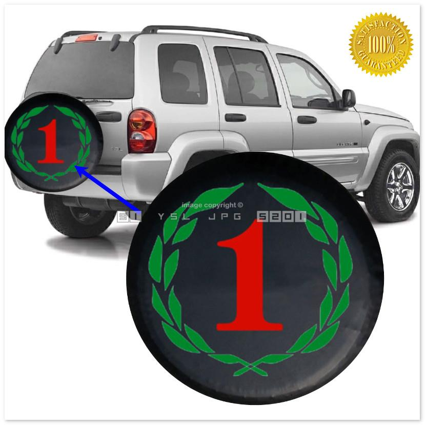 Number One CY13 Soft Rear Spare Wheel Cover Jeep Tyre Tire