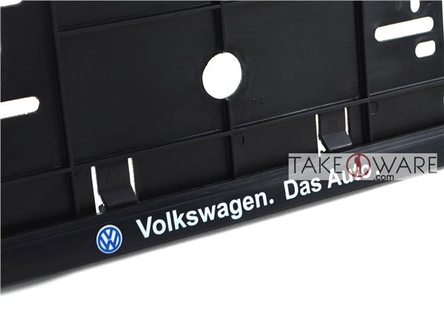 Number Plate Frame - Single Row - Black / Silver - Volkswagen  sc 1 st  Lelong & Number Plate Frame - Single Row - B (end 3/14/2019 10:15 AM)
