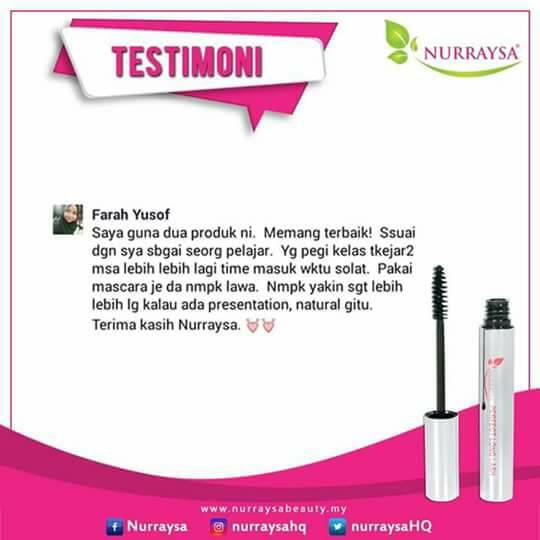 NURRAYSA PERFECT LONG LASH MASCARA