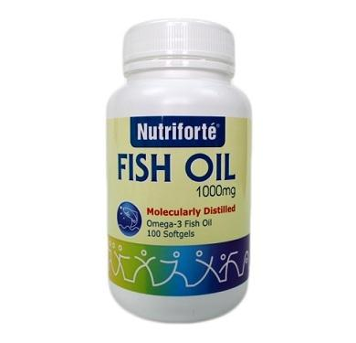 Nutrifort¨¦ Fish Oil 1000mg 100's