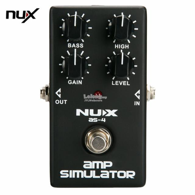 NUX Mini Guitar Distortion Effect Pedal Guitar Simulator Booster Profe