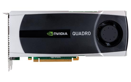 NVIDIA Quadro 5000 2.5GB DDR5 320bit DVI Dual Display Port PCI-E GPU
