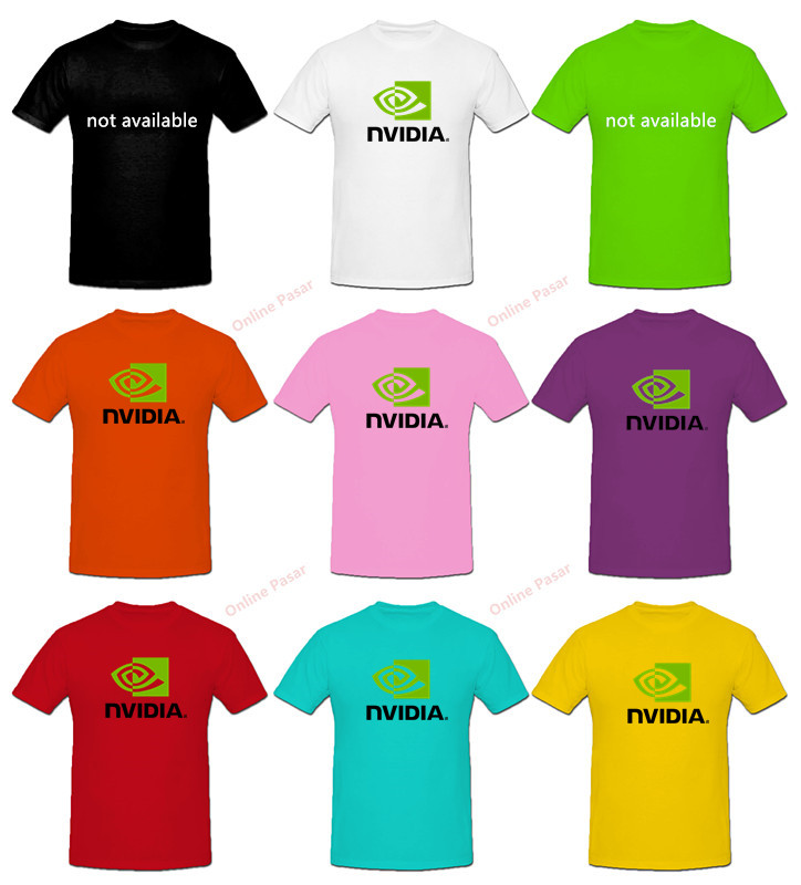 Nvidia T-Shirt with 8 Colour Choices