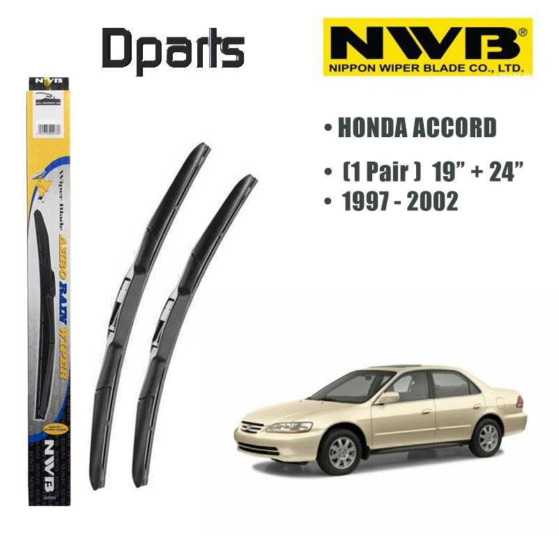 "NWB Aero Rain Wiper Blade ( 19""/24"" ) For Honda Accord ( Made In Japan"