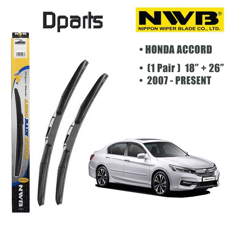 "NWB AeroRain Wiper Blade ( 18""/26"" ) For Honda Accord ( Made In Japan"