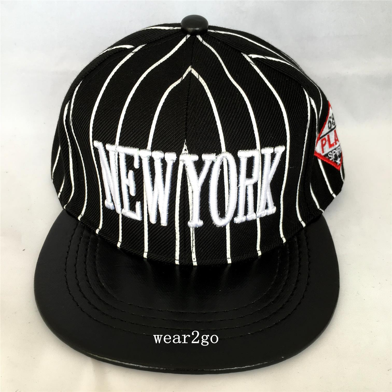 NY NEW YORK Kids Snapback Cap in Black Color