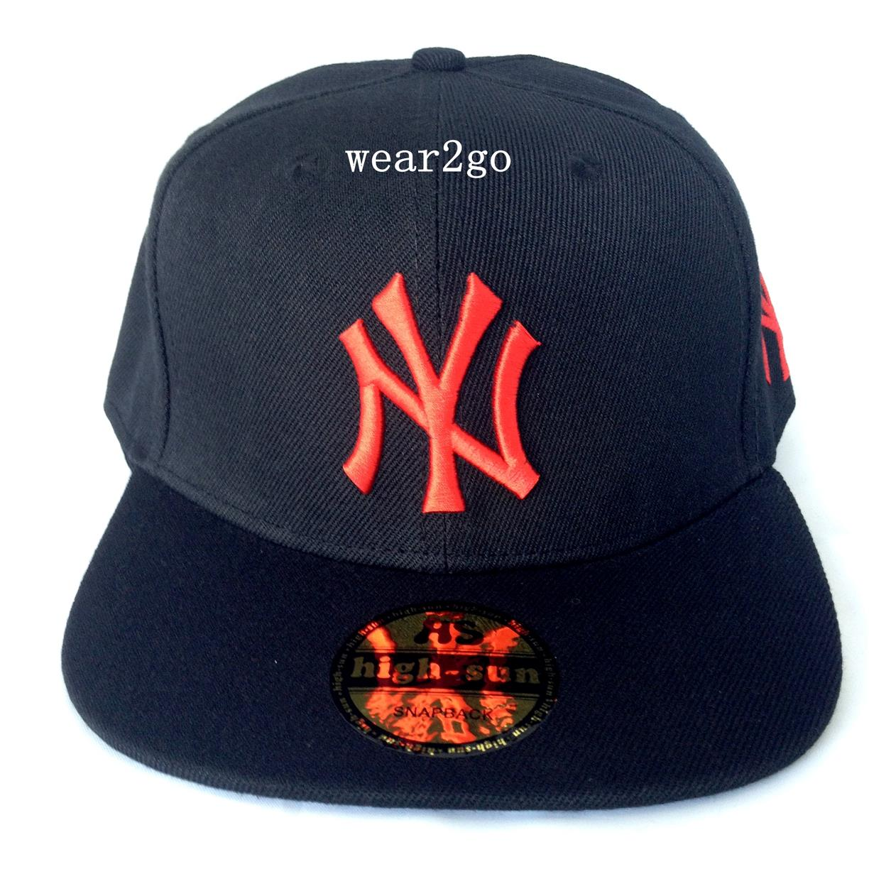 NY NEW YORK Snapback Cap in Black Co (end 3 28 2018 1 15 PM) f0e7ee2acda