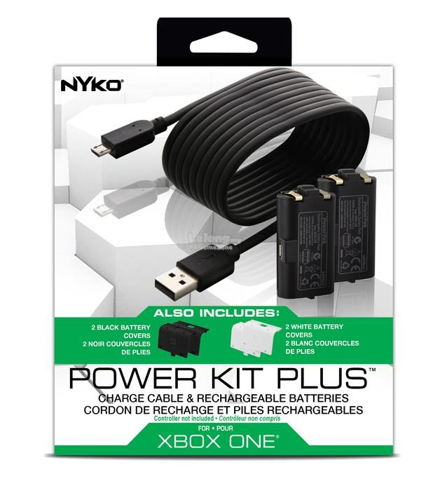 Nyko Xbox One Power Kit Plus for Controller Charge Battery Charging