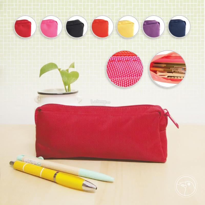 Nylon Cosmetics / Stationery Pouch