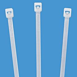 NYLON SELF LOCKING CABLE TIES-8''/200MMX3.6MMX100PCS-WHITE