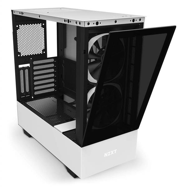 NZXT H510 ELITE MATTE WHITE ATX MID TOWER TG CASING CA-H510E-W1