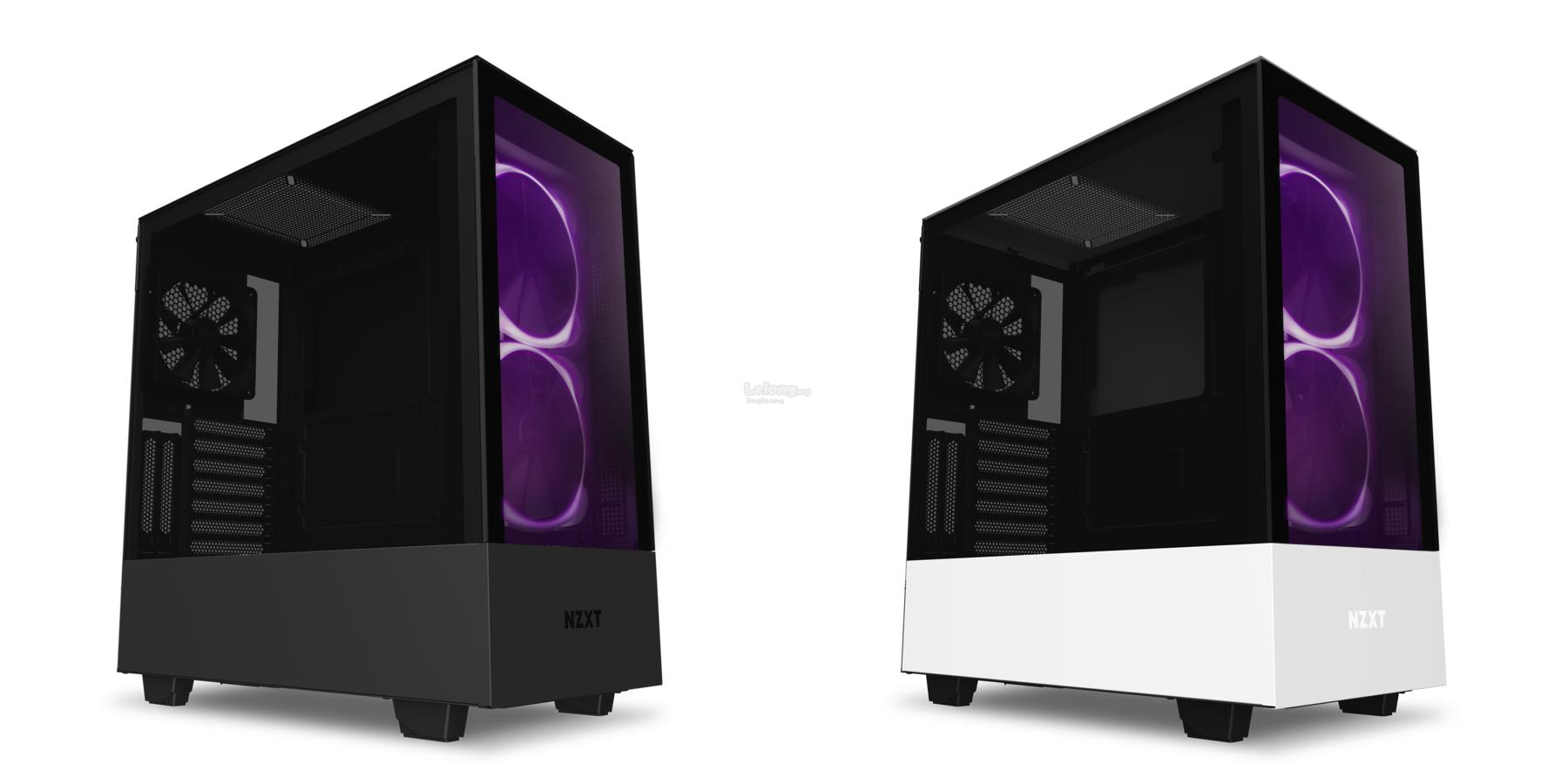 # NZXT H510 Elite Premium Tempered Glass Mid Tower Case # Black/White