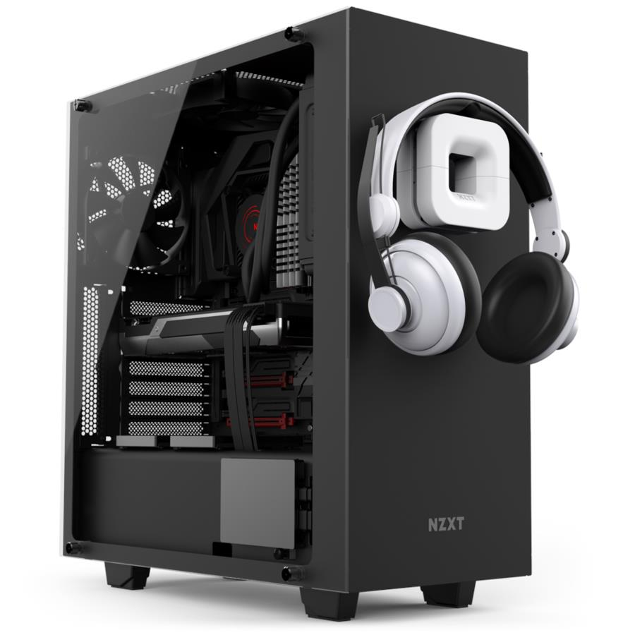 NZXT PUCK CABLE MANAGEMENT AND HEADSET MOUNT BLACK BA-PUCKR-B1