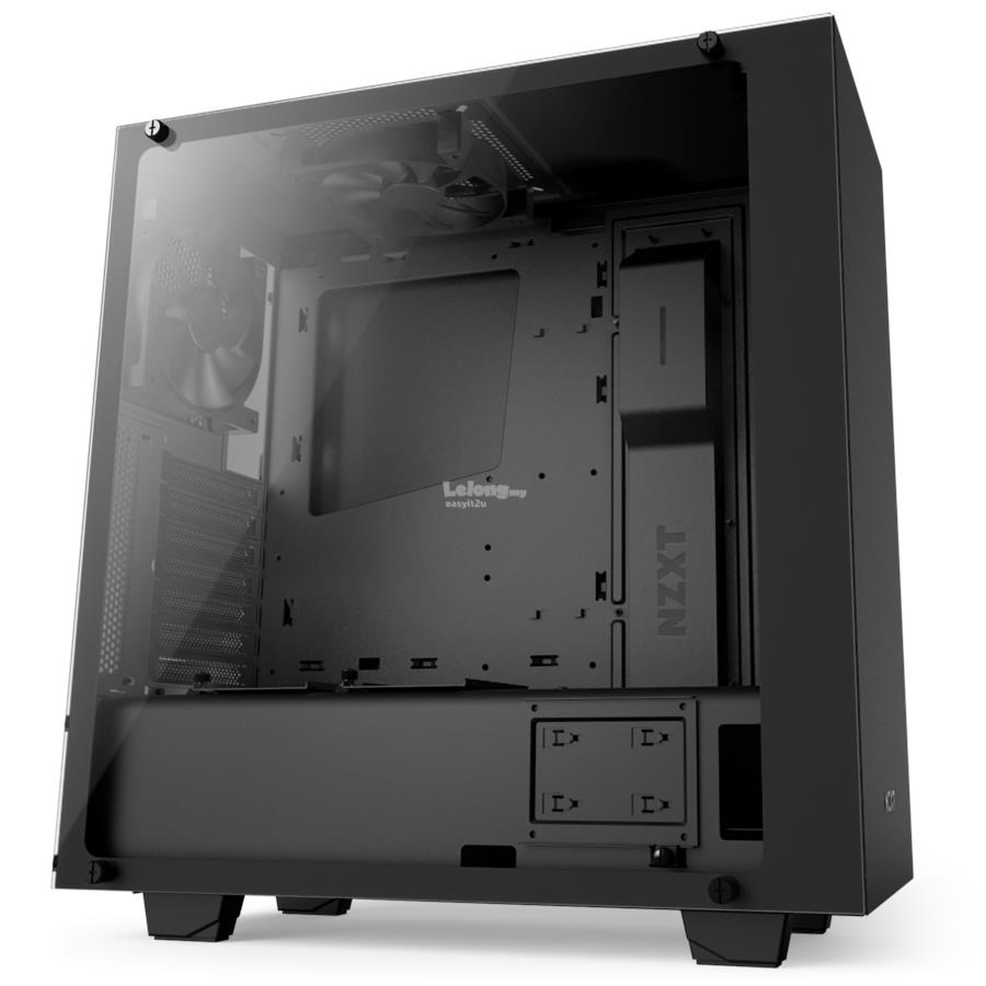 NZXT S340 ELITE TEMPERED GLASS SIDE PANEL CHASSIS (MATTLE BLACK)