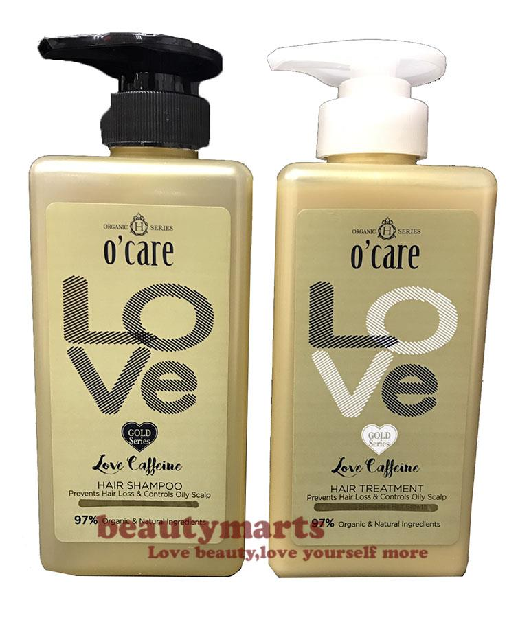 O'CARE Love Caffeine Hair Shampoo + Treatment (Prevent Anti-itch & Oil