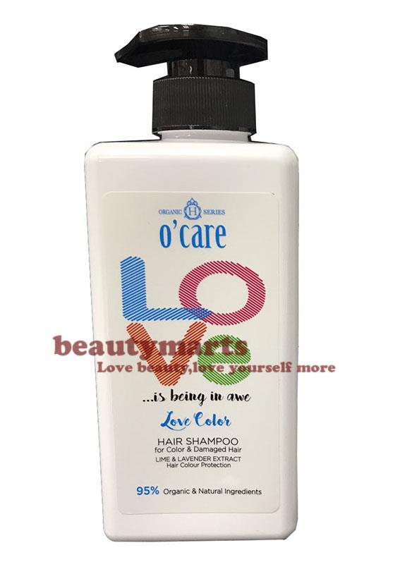 O'CARE Love Color Hair Shampoo (Ideal for Color Hair & Damage Hair)