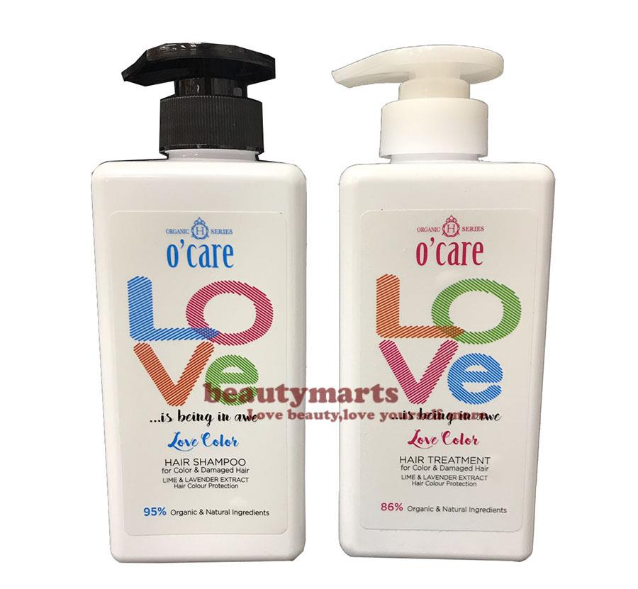 O'CARE Love Color Hair Shampoo + Treatment  (Ideal for Color Hair & Da
