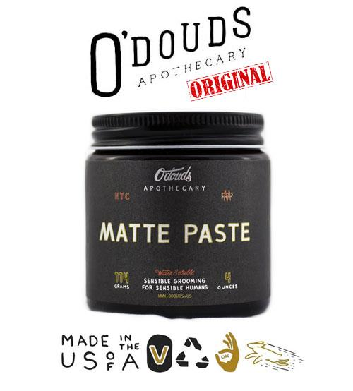 O'Douds ODouds Apothecary All Natural Water Based Matte Pomade (114g)