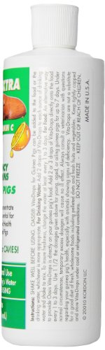 OASIS #80069 Guinea Pig Vita-Drop Vitamins, 16-Ounce liquid multivitamin with