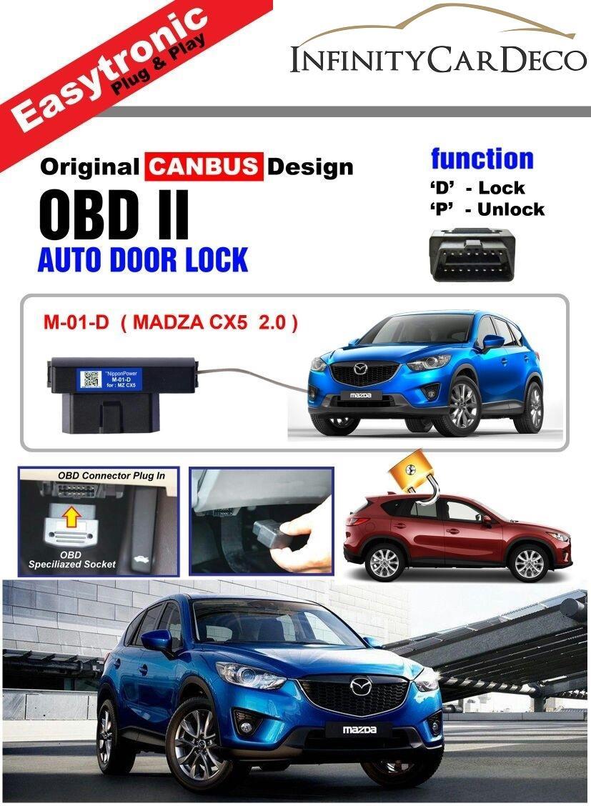 OBD Auto Door D Lock for Mazda CX-5 2012-2016