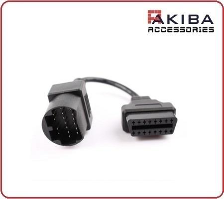 OBD II Connector 16 Pin to 17 Pin OBD Adapter Cable for Mazda