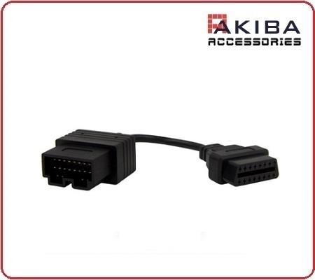 OBD2 OBDII 16p to 20p Diagnostic Code Reader Cable for KIA