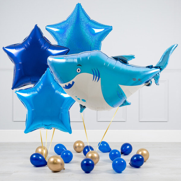 Ocean Buddies Shark SuperShape Foil Balloon 33774 Party Decoration