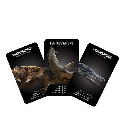 Octagon Studio Fun Interactive Kid Learning 4D+ Flash Card (Dinosaur)