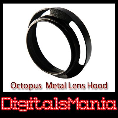 Octopus 77mm OC-LH01 Metal Lens Hood For Canon Nikon Sony Olympus Pent..