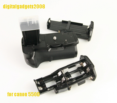 Octopus Battery Grip BG-E8 DSLR Canon 550D 600D 650D 700D + 2 LP-E8