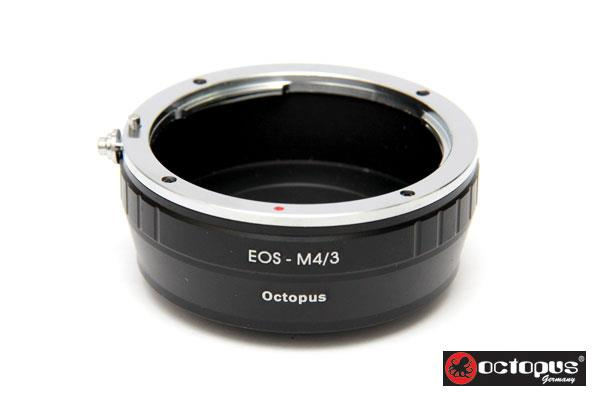 Octopus Canon EOS to M 4/3 Lens Adapter - Olympus Pen Series Mirco 4/3