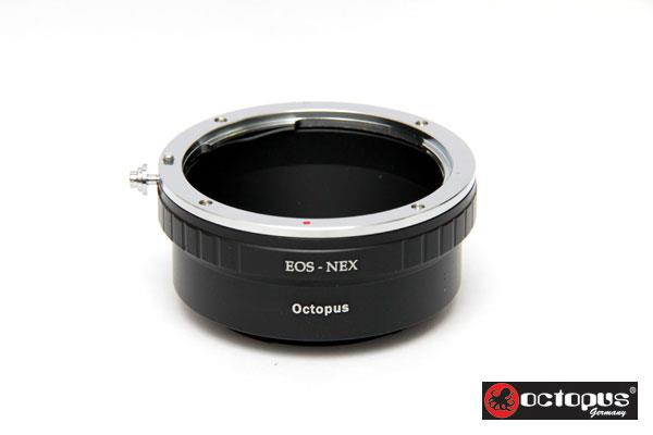Octopus EOS to Sony NEX E Mount Series Lens  Adapter - VG20 VG30 VG900