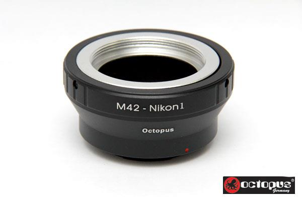 Octopus M42 to Nikon 1 Series Lens Adapter -  J1 J2 J3 AW1 S1 V1 V2