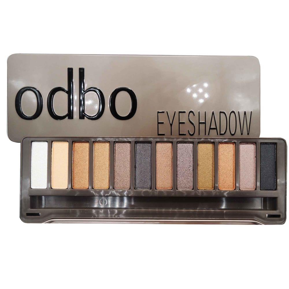 ODBO Classic Earth Tone Eyeshadow Palette Multiple Color Code 03