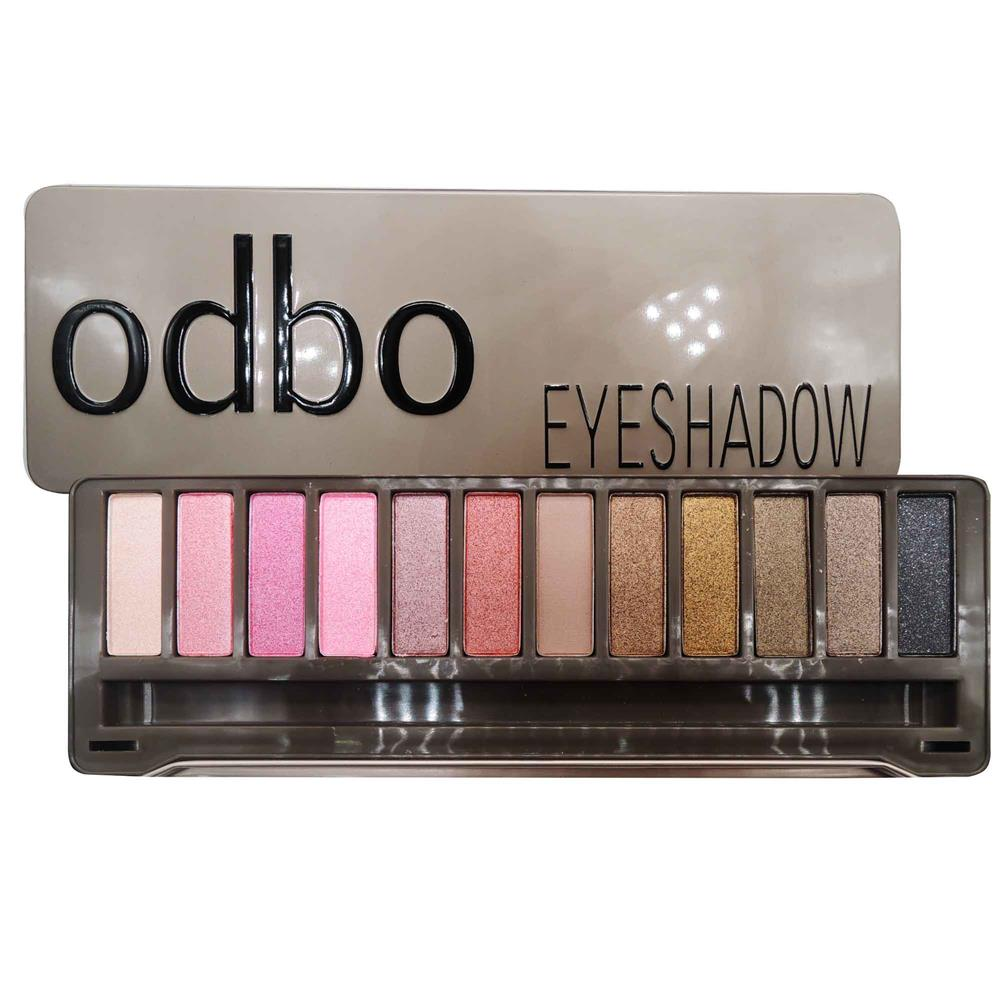 ODBO Classic Earth Tone Eyeshadow Palette Multiple Color Code 04