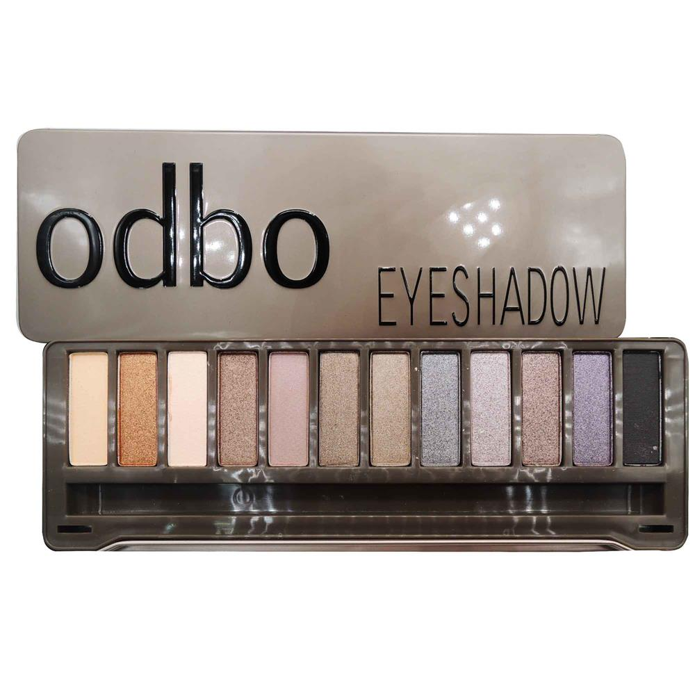 ODBO Classic Earth Tone Eyeshadow Palette Multiple Color Code