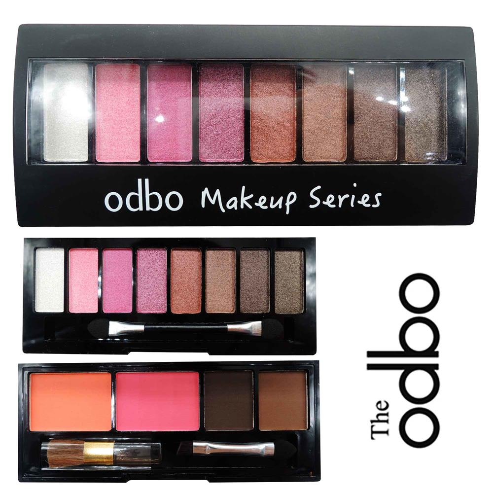 ODBO Makeup Series 2 Layer Eyeshadow and Blush 2 in 1 Palette 01