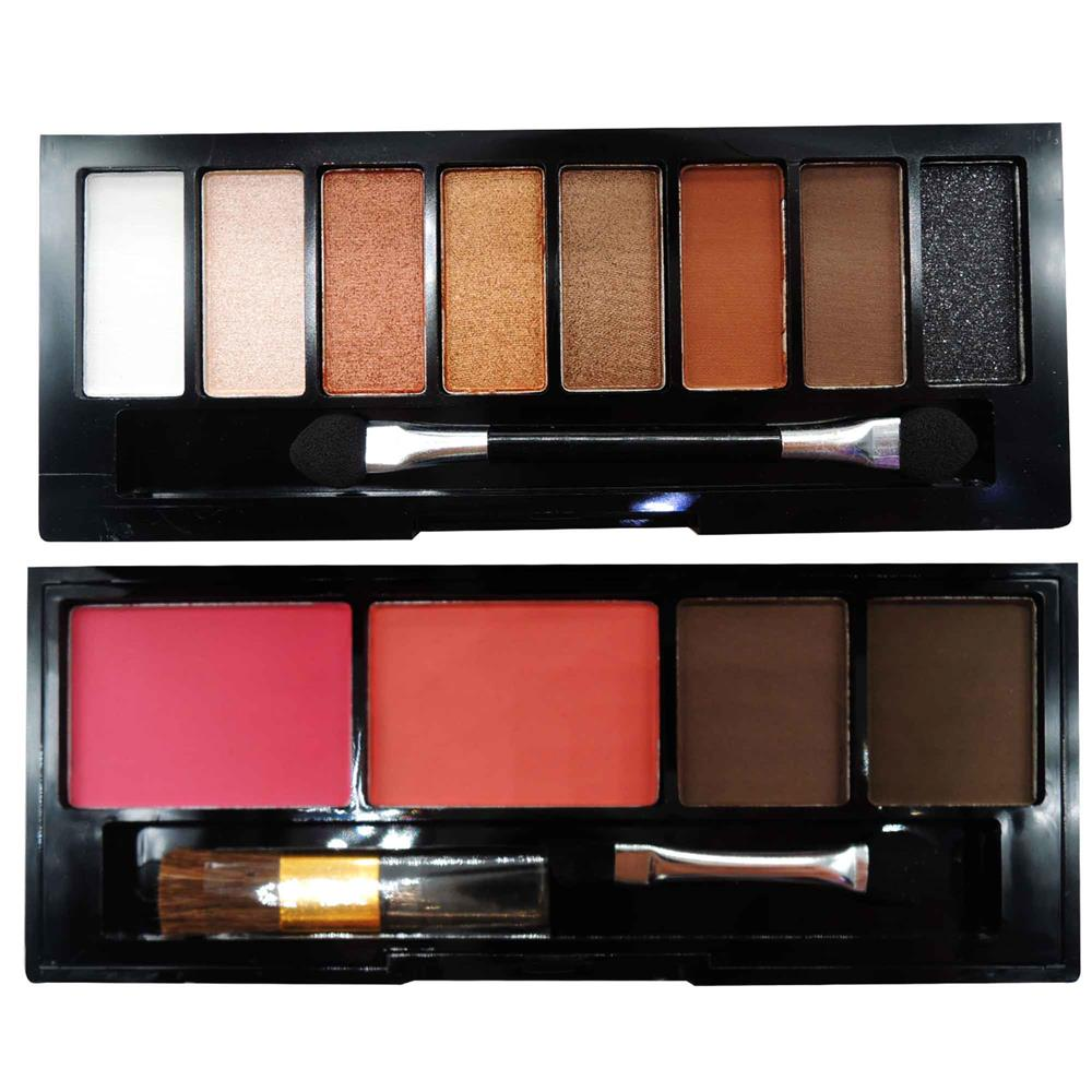 ODBO Makeup Series 2 Layer Eyeshadow and Blush 2 in 1 Palette 05